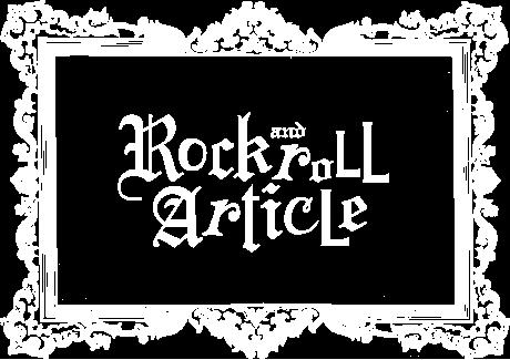 """""""ROCK×ART"""" ロックとアートのある日常"""